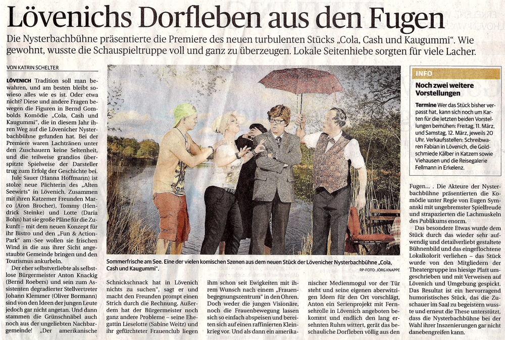Rheinische Post vom 7.3.2016