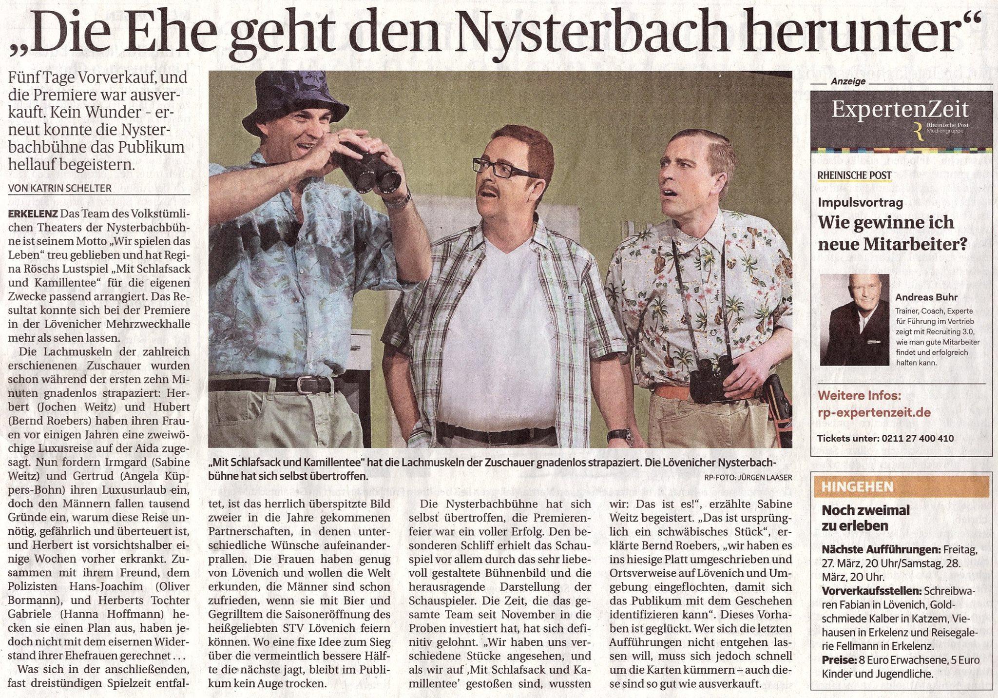 Rheinische Post vom 24.3.2015